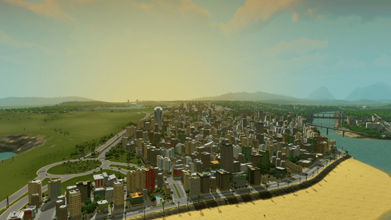 Cities Skylines - orilla