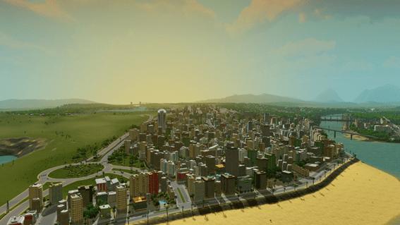 Cities Skylines - orilla
