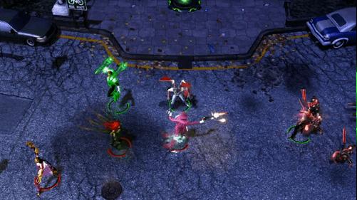 Infinite crisis combat