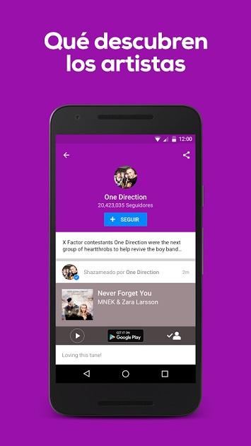 descubrir nuevos artistas app