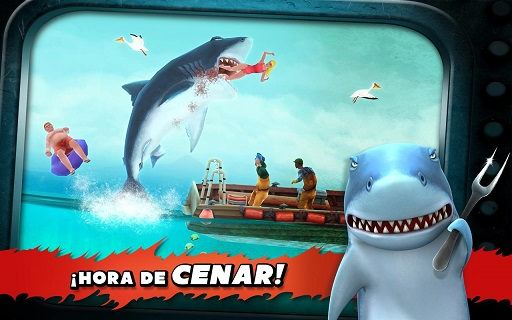 Juego de Tiburones para Android