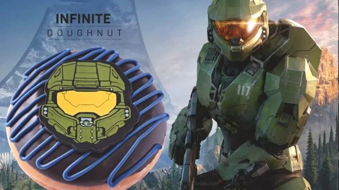 OoooOo: Halo Infinite will have special donuts at Krispy Kreme - Pledge  Times