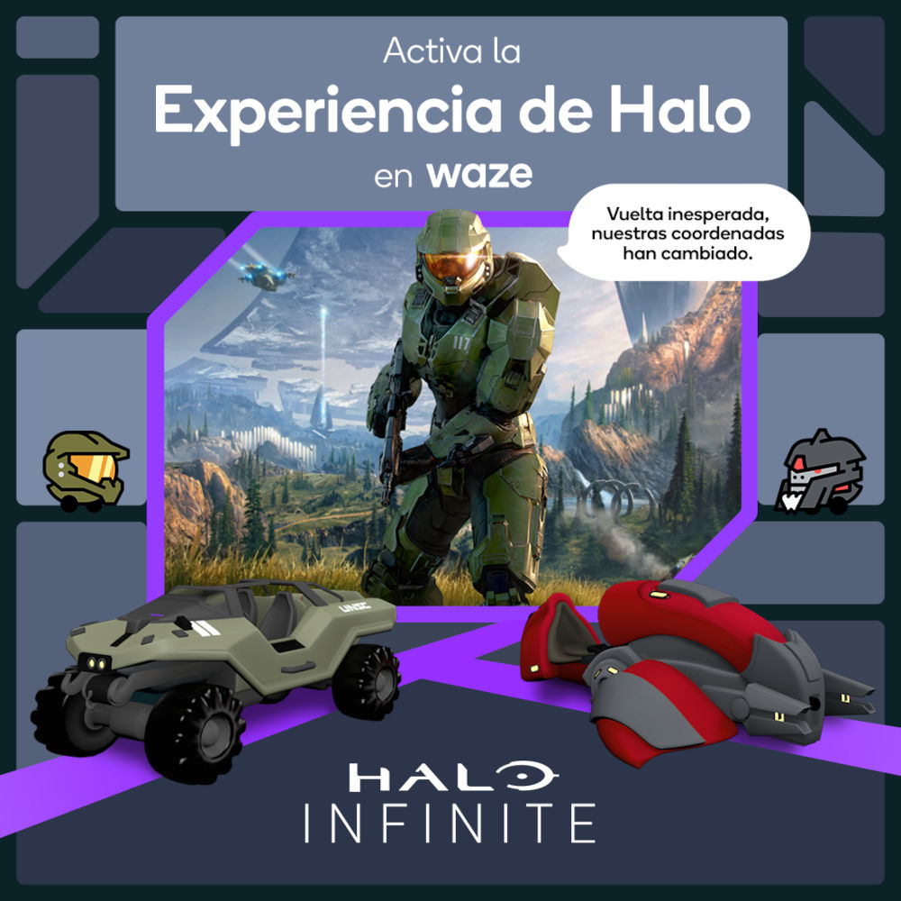 Halo and Waze begin curious collaboration