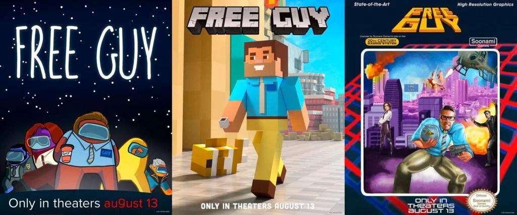 free guy posters juegos 01