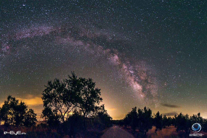 In Extremadura kun je goed sterrenkijken zonder lichtvervuiling