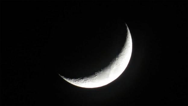 Luna cuerno - luna mojada - significado