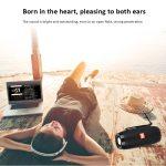 CAIXA DE SOM T&G BLUETOOTH BOOM BOX HIFI SUBWOOFER BASS TF RÁDIO FM