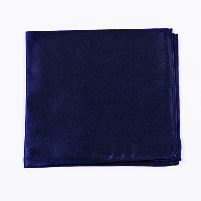 Marineblauwe pochet kopen