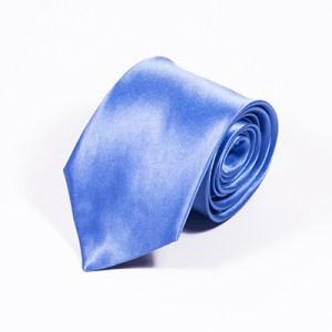 Lichtblauwe stropdas zijde