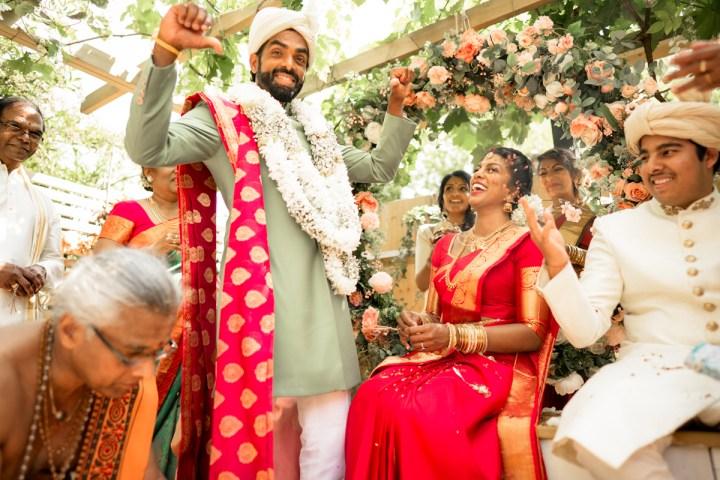 Intimate Tamil Hindu Wedding at Home – London, UK