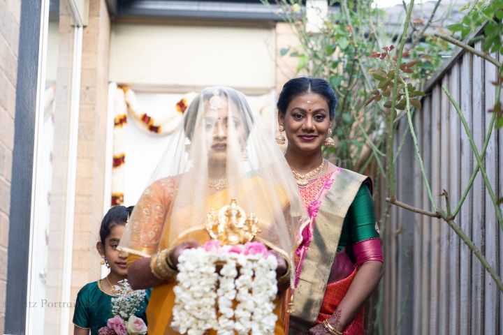 Intimate Tamil Hindu Wedding at Home – Australia