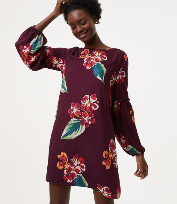My picks for Thanksgiving and Fall outfits include florals, bell sleeves and sweater dresses. There are casual and dressy picks.