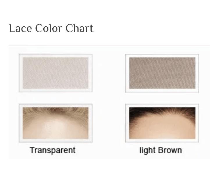 Lace Color Chart