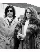 Jean Michel Jarre and Charlotte Rampling, circa 1975 Tom Wargacki : Getty Images