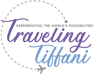 logo for Traveling Tiffani blog