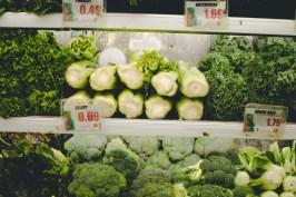 Marukai's selection of fresh vegetables.