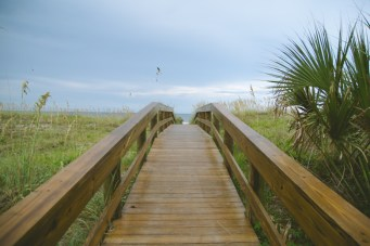We went down to Jacksonville Beach & took some photos of the bridges. Again, rain...all the damn time.