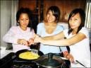 Cooking Noodles.