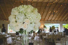 Your reception heavily depends on a beautiful centerpiece & theirs did not disappoint.