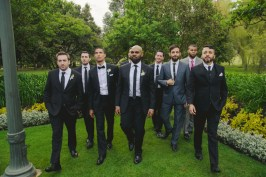 It's Josh's wedding, he can Reservoir Dogs if he wants to.