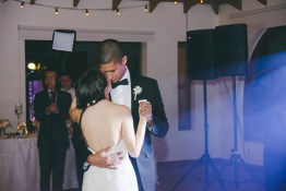 Andrea & Josh have their first dance.