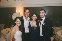 Had to get a photo with the newlyweds!