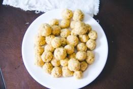 TiffanyBee.com   Vegetarian Matzo Ball Soup Recipe