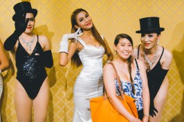 Posing with Beautiful Ladyboys!