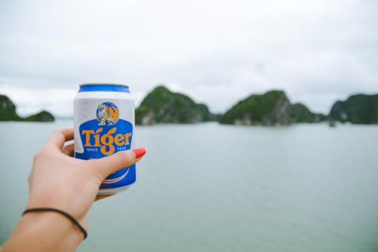 Cheers to Ha Long Bay!