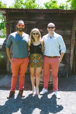 Tom, Alix, & Ben