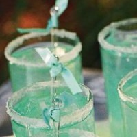 A Cocktail with a twist of Tiffany Blue