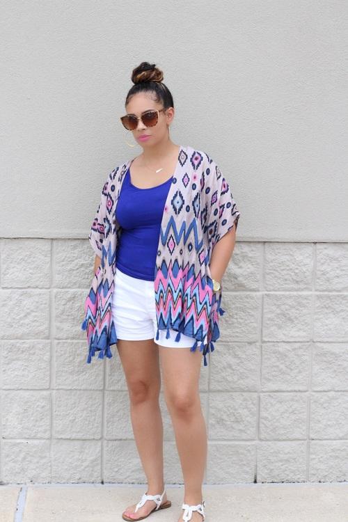 bold kimono