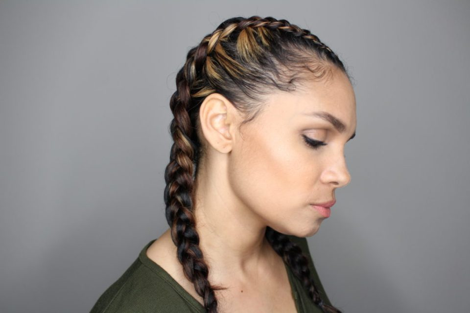 Natural Hair: How To Do Boxer Braids-Tiffany D. Brown