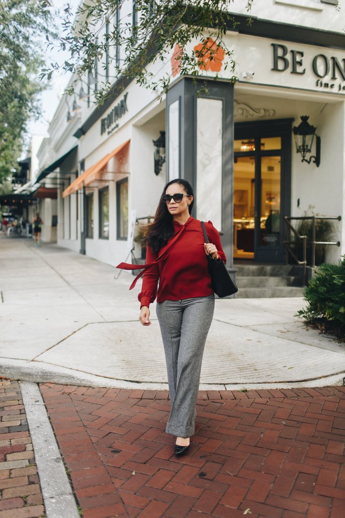 These Two Fall Colors Are Great For A Day At The Office-Tiffany Nicole Brown