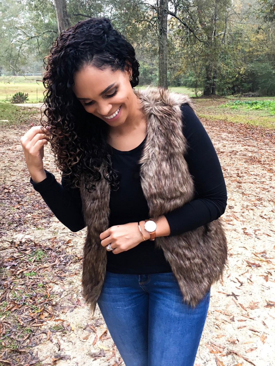 The Vest You Need In Your Fall Wardrobe This Year-Tiffany Nicole Brown