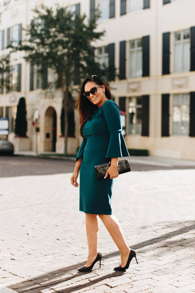 This Classy Dress Is Perfect For The Office-Tiffany D. Brown