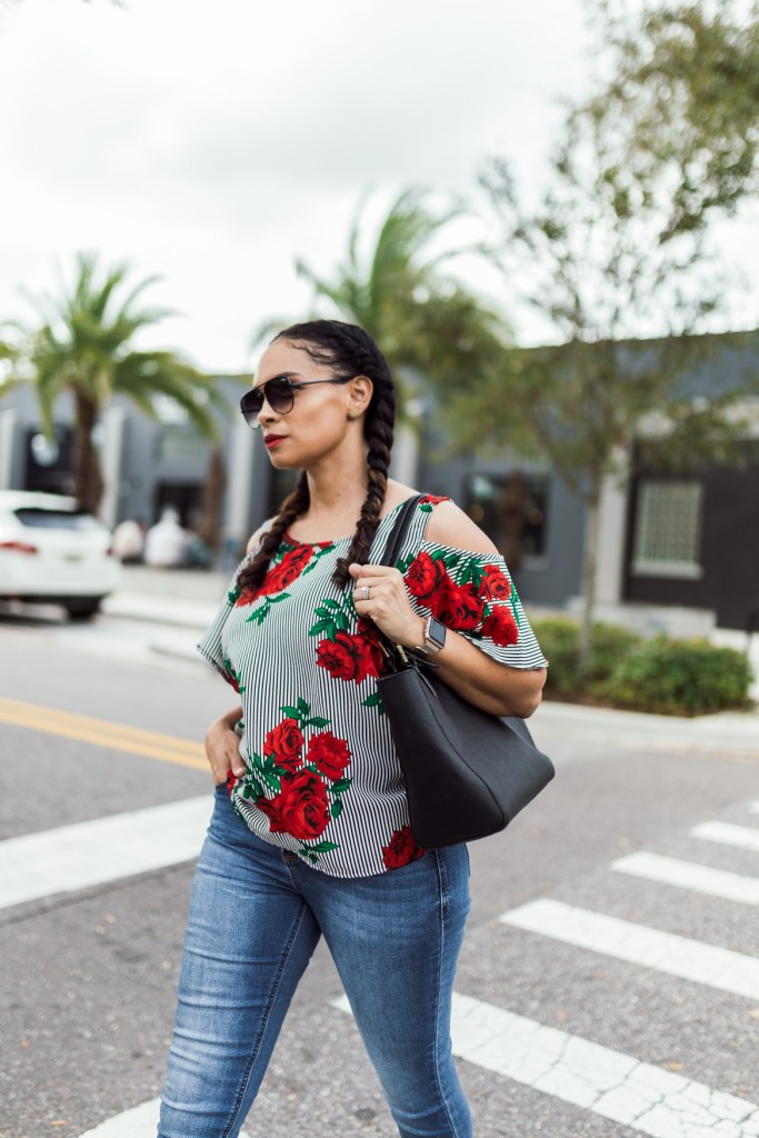 You Can Dress Up Your Outfit With This Perfect Top-Tiffany D. Brown