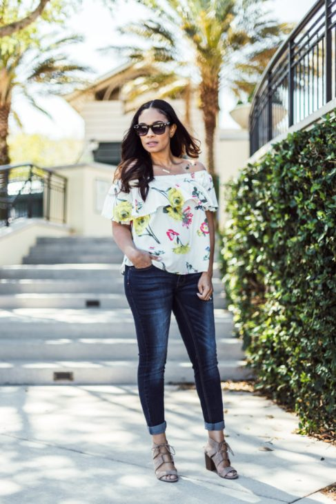 I Love This Boutique Top And It's The Perfect Spring Top-Tiffany D. Brown