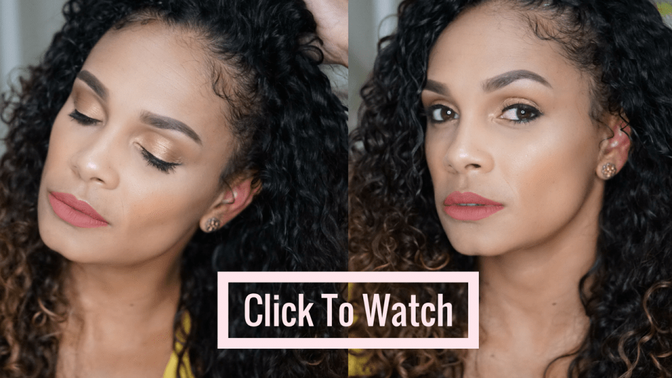 How To Achieve A Soft Glam Makeup Look- Tiffany D. Brown