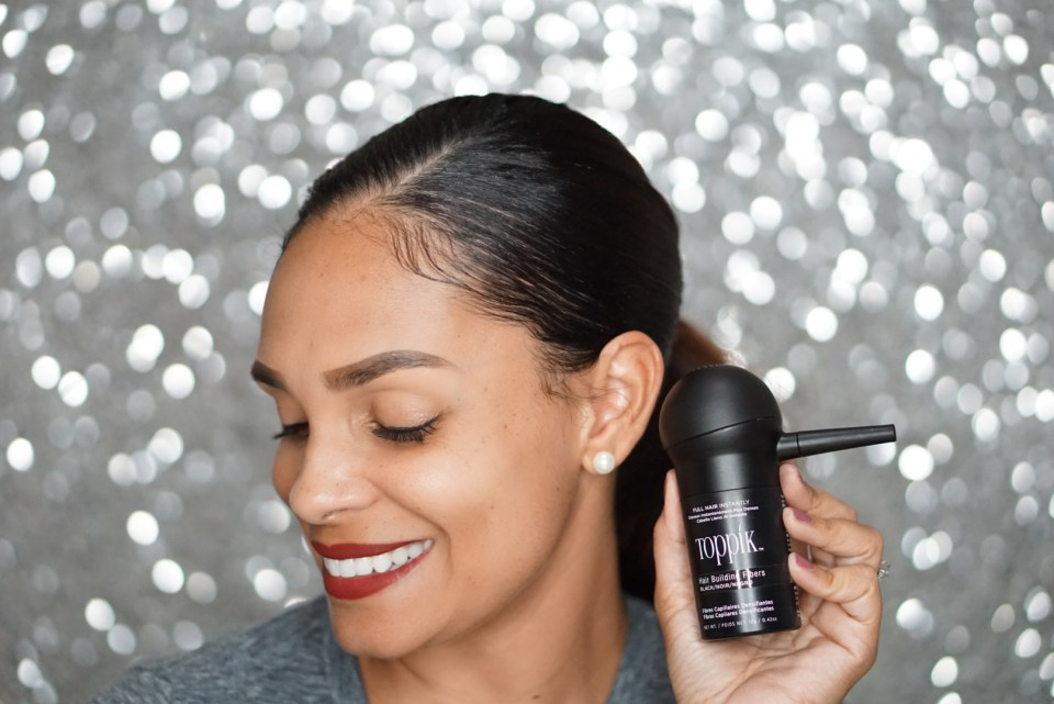 Did You Know That Hair Building Fibers Are A Thing?-Tiffany Nicole Brown