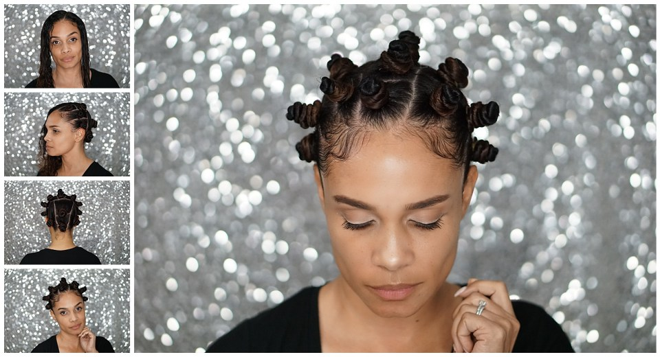 Natural Hair: How To Do Bantu Knots Tutorial-Tiffany D. Brown
