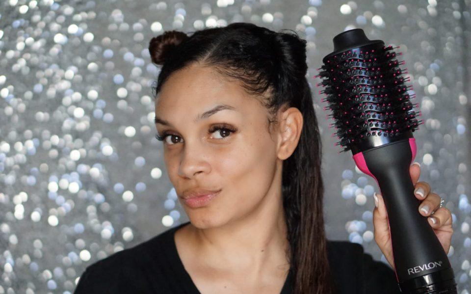 Product Review: Revlon Salon One-Step Hair Dryer & Volumizer Brush-Tiffany D. Brown
