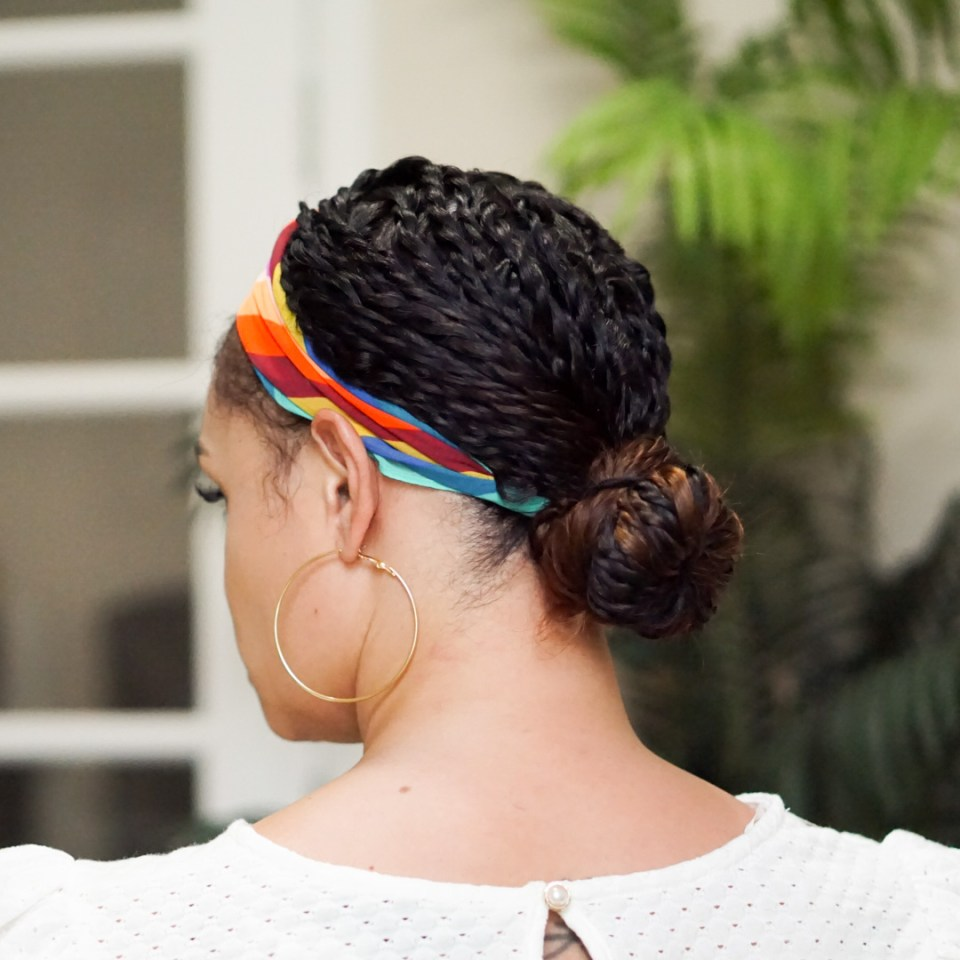 4 Easy Fun Ways To Accessorize Your Two-Strand Twists-Tiffany D. Brown