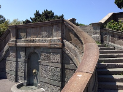 The Little Staircase in Kalemegdan park was designed by Serbia's first lady-architect!