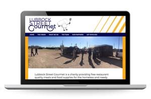 Lubbock Street Gourmet website