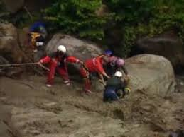 Rescue Swiss Canyoning Disaster which Tiffany Johnson Survived