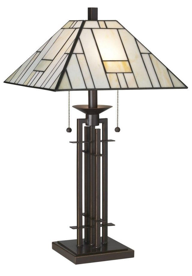 Franklin Iron Works Wrought Iron Tiffany Style Table Lamp Review