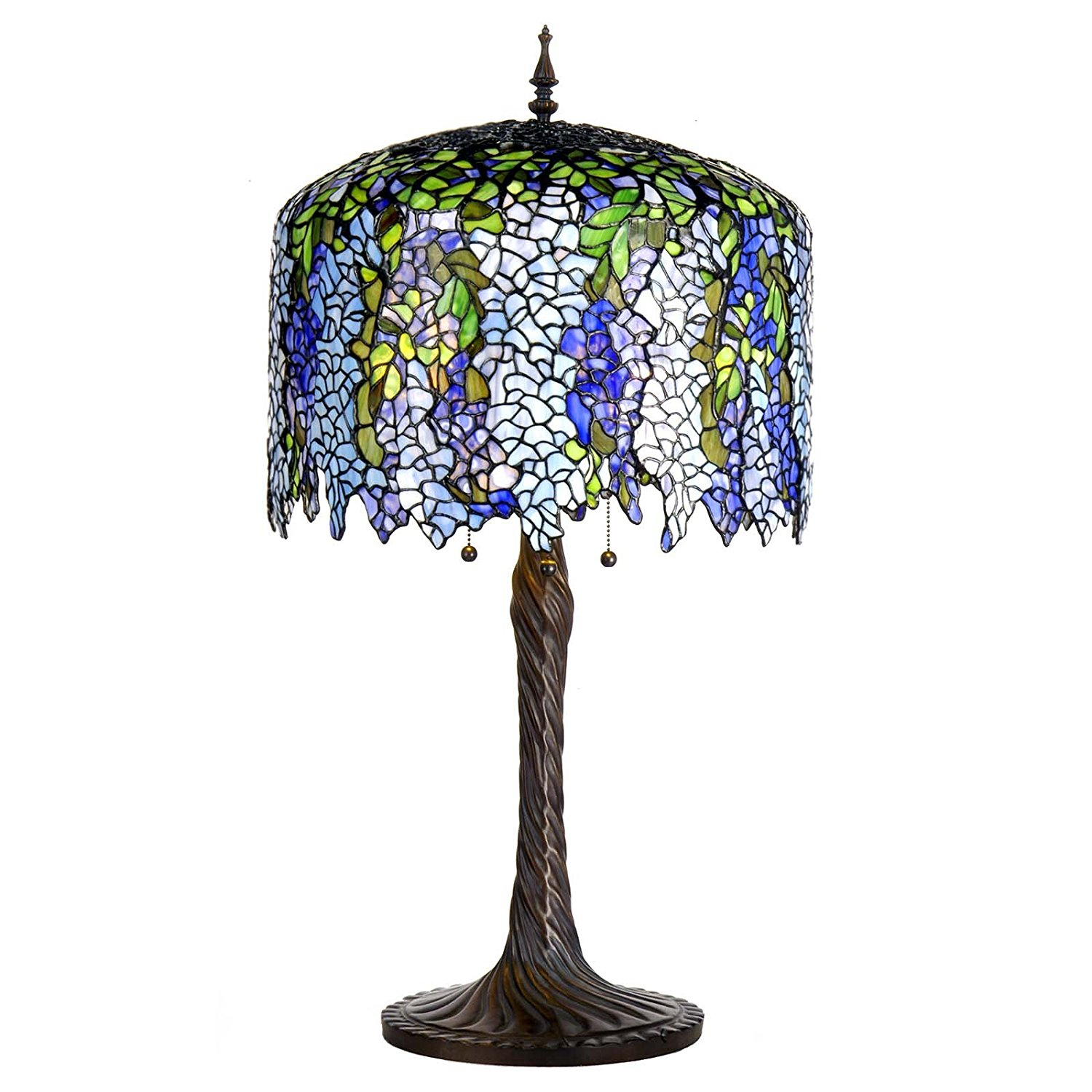 CLICK HERE For A High Quality Tiffany Wisteria Lamp Reproduction For Sale