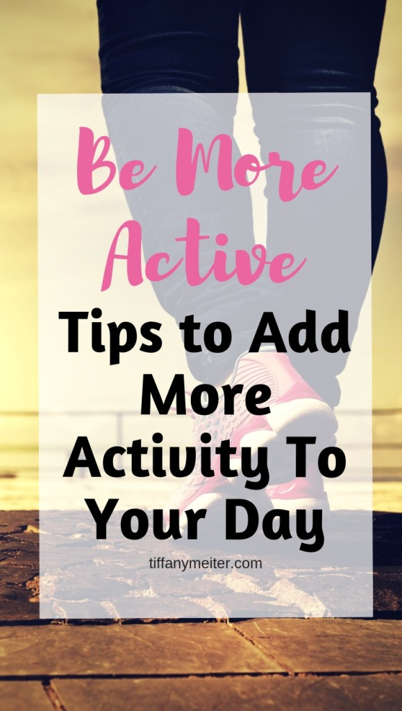 Add more activity to your day