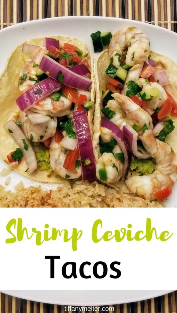 Ceviche Shrimp Taco's